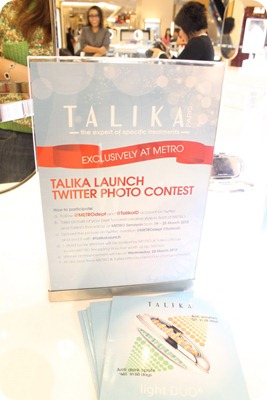 talika launch twitter photo contest