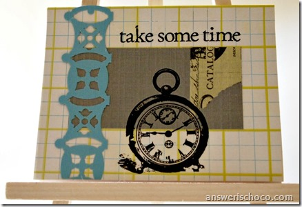 Take Some Time Card