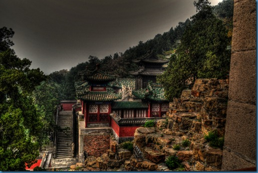 Summer Palace Stairs HDR