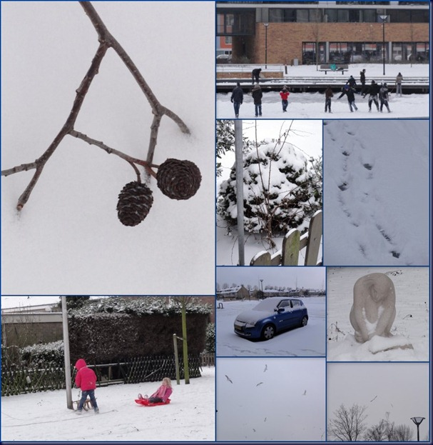 van alles wat in huis en sneeuw