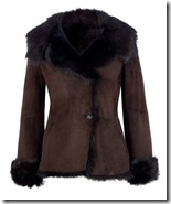 LK Bennett Shearling Coat