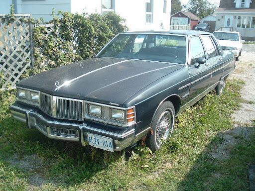 1981 Pontiac Parisienne  - Front - drive side view - photo taken August 2007