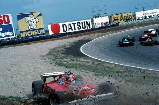 Gilles Villeneuve(CDN) Ferrari