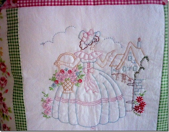crinoline lady for Lucy close