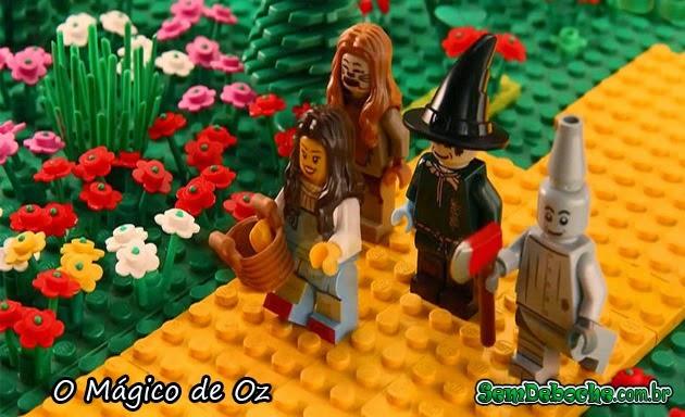 FILMES RECRIADOS EM LEGO: O MÁGICO DE OZ!