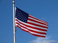 Die Fahne ist hier gaaanz groß in Mode