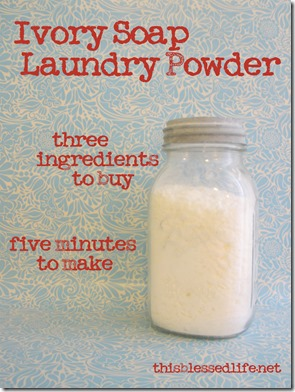 3-Ingredient Laundry Soap with Ivory 024