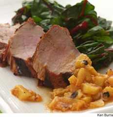 pork_tenderloin_with_grilled_peach_ginger_chutney