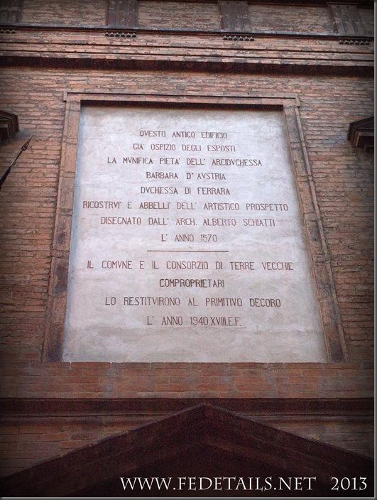 San Cristoforo dei Bastardini, Photo2,Ferrara,Emilia Romagna,Italy - Property and Copyrights of FEdetails.net