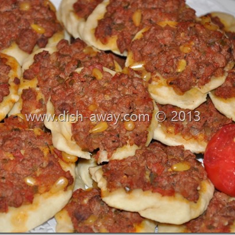 Lahm Bi Ajin Recipe (Sfiha Recipe)