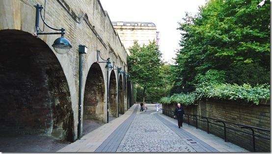 The old railway arches