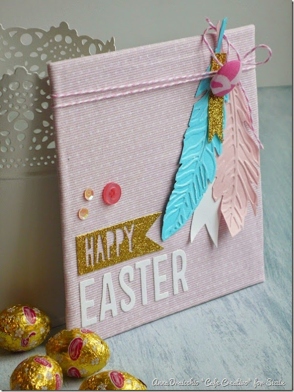 Crafting Ideas From Sizzix Uk Easter Home Decor