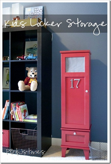 kids bedroom organization red furniture