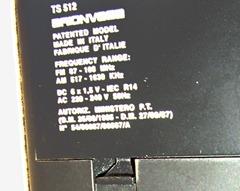 Brionvega TS 512