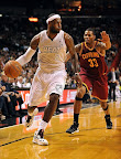lebron james nba 121124 mia vs cle 11 LeBron Introduces the Ambassador but Switches to X in 2nd Half