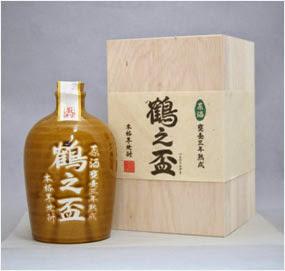 甕壺三年熟成 鶴之盃 四合瓶