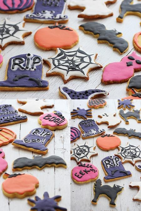 Halloween cookies 15