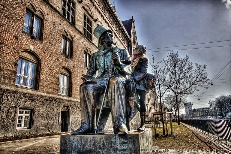 Hans Christian Andersen Statue Copenhagen
