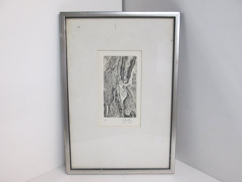M. Bernstein Signed Etching