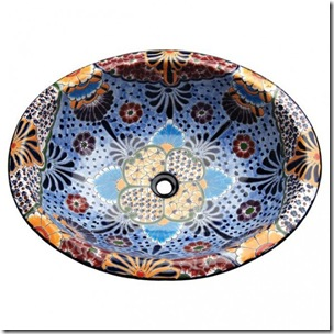 Elegant-Stylish-And-Eye-Catching-Porcelain-Vessel-Bathroom-Sink-with-Colorful-Floral-Interior-Motif-590x590