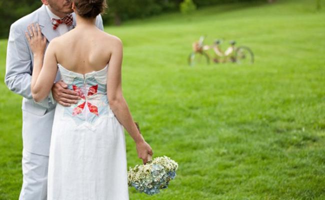 decoracao simples e divertida para casamento - homespun 1