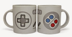 2 Player Gaming Mug Set from ThinkGeek