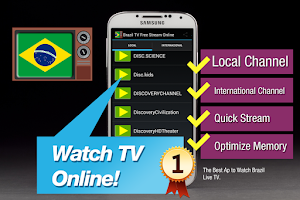 Screenshot of Brazil TV Online Free Stream