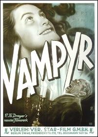 Vampyr - poster