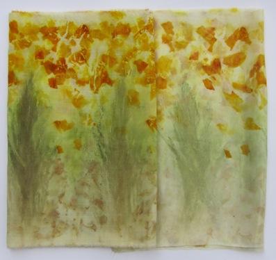 1 Zwiebelschalen, Schilfblüten, Berberitzenblätter
