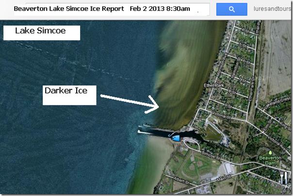 Canadian ice fishing championship blog beaverton lake for Lake simcoe fishing report
