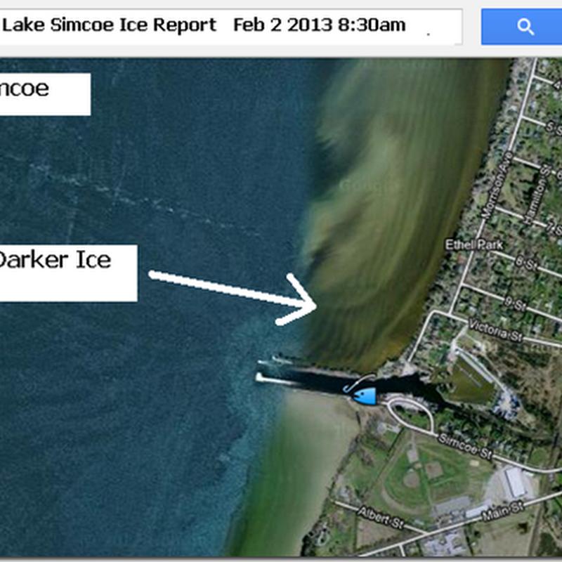 Canadian ice fishing championship blog lake simcoe ice for Lake simcoe fishing report
