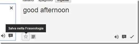 Sala nella Fraseologia Google Traduttore