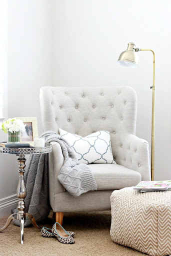 Attractive Master Bedroom Update: Reading Nook