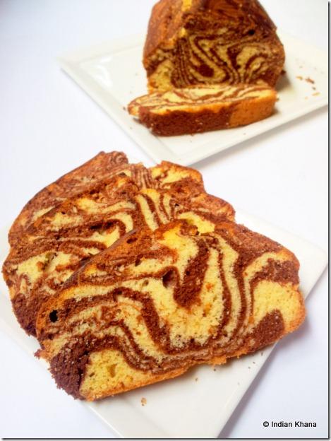 Easy cake recipe Marmer cake
