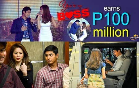 You're My Boss earns P100-M