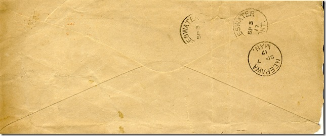 17 Aug 1917 Back of Envelope