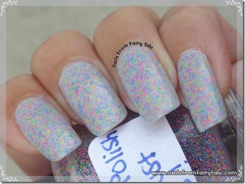 Glitter Bunny - Flip Flop Madness swatch 2