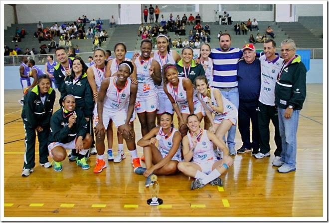 ADCF Unimed - campeã dos Jogos Regionais de Itatiba - 9 de julho de 2014 - Foto Ariel Ferreira - Prefeitura de Americana