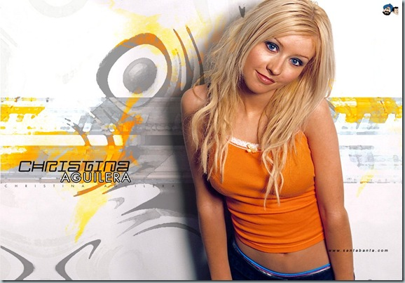 christina aguilera_wallpaper 02