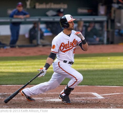 'Nick Markakis' photo (c) 2013, Keith Allison - license: http://creativecommons.org/licenses/by-sa/2.0/