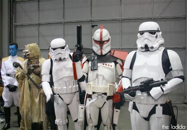 Supanova Sydney 2013 Cosplay -  Star Wars Stormtroopers
