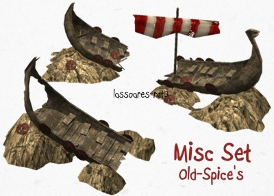 Misc Set (Old-Spice) lassoares-rct3