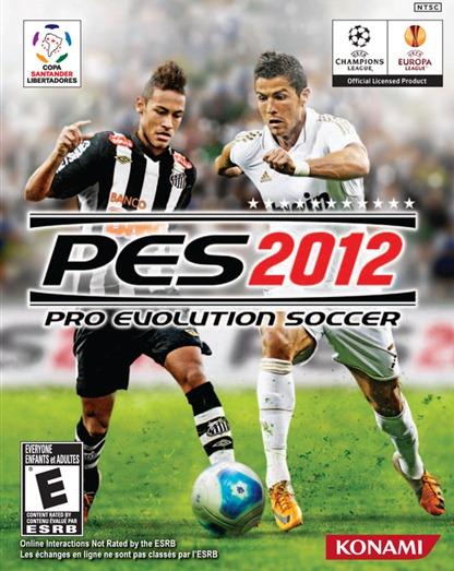 capa PES 2012 com neymar