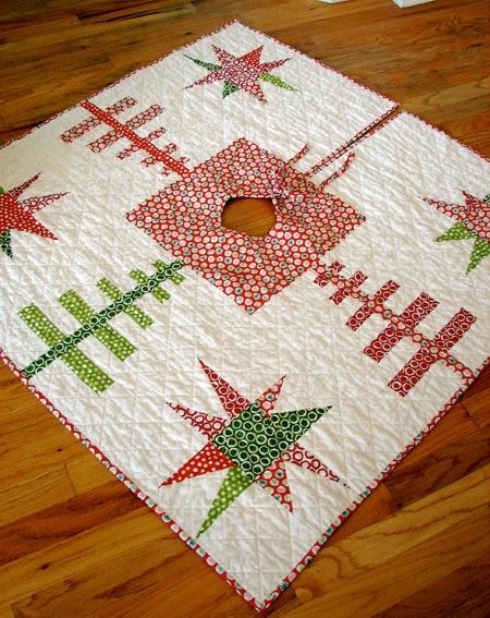 2 Christmas Tree Skirts