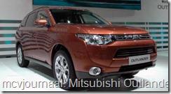 2012 Autosalon Geneve - Mitsubishi Outlander RE