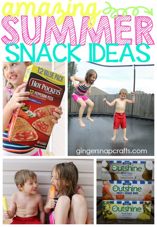 Amazing Summer Snack Ideas at GingerSnapCrafts.com #SummerGoodies #CollectiveBias #shop