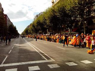 Diada Cataluña cadeneta 11/09/20013