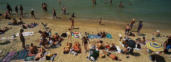 Playa de la Concha. San Sebastian, Donosti, Guipúzcoa 2000
