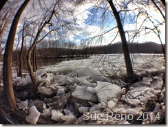 er ice jam, by Sue Reno, Fisheye  Image 3