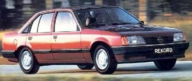Opel Rekord 1977